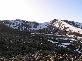 Coire an t-Sneachda mountain in United Kingdom