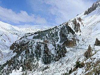 Arvieux - Image: Col Izoard 531