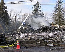 Colgan Air Flight 3407(N200WQ) wreckage.jpg
