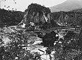 Collectie NMvWereldculturen, TM-60032908, Foto- 'Het Karbouwengat met de Michielspiek, omgeving Fort de Kock', fotograaf onbekend, 1920-1926.jpg