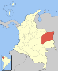 Colombia Vichada loc map.svg