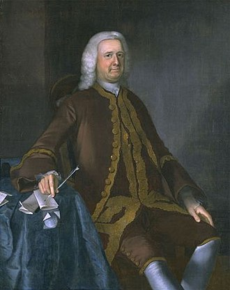 Joseph Blackburn (painter) - Image: Colonel Theodore Atkinson 1760 Joseph Blackburn