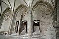 Columns af the Salle des Hôtes - Mont St Michel (32081114784).jpg