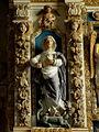 Commana (29) Église Saint-Derrien Retable des cinq plaies 05.JPG