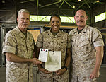 Commandant and Sergeant Major of the Marine Corps visit Marines and Sailors of SP-MAGTF Crisis Response 140902-M-PA636-064.jpg