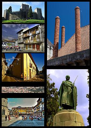 Composite de imagens do Centro Histórico de Guimarães.jpg