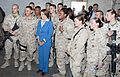 Congresswoman Pelosi meets with servicemembers in Afghanistan (7677796590).jpg