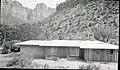Construction, residence Building 11, Oak Creek. ; ZION Museum and Archives Image 004 03A070 ; ZION 13558 (a287e8e1f391424d986757ef9879bd98).jpg