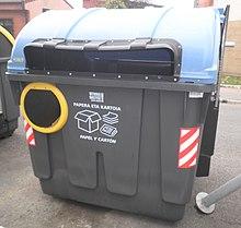 Recogida selectiva de basura wikipedia la enciclopedia - Normativa detectores de metales ...