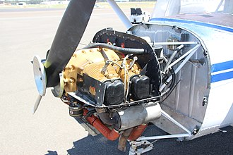 Continental O-200 - O-200-A installed in a Cessna 150