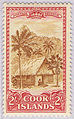 Cook Islands 1949 Ikurangi mountain stamp.jpg