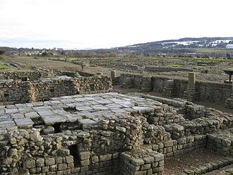 Coria (Corbridge) - Image: Corbridge Roman Ruins