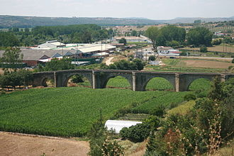 Coria, Cáceres - Image: Coria old bridge
