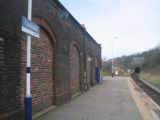 Corkickle railway station