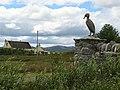Cormorant sculpture - geograph.org.uk - 498315.jpg