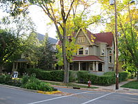 Corner of Spaight and Few, Orton Park Historic District.JPG