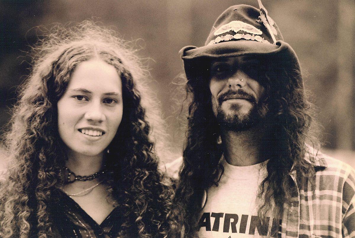 rencontre une fille hippie