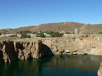 Copper in Africa - Okiep copper mine, South Africa