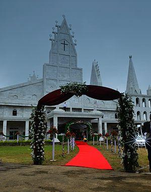Solomon's Temple, Aizawl - Solomon's Temple, Mizoram on Coronation Day