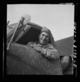 Corporal Oliver R. Wechsler of Anderson, Indiana, a mechanic in civilian life, 8d29385a.tif