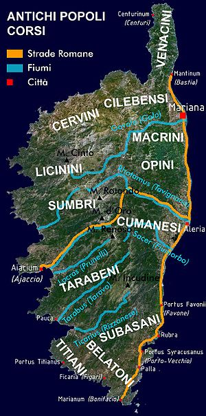 Corsicans - Ancient tribes of Corsica