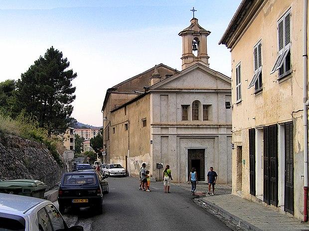 Monument historique à Corte
