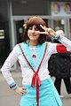 Cosplayer of Haruhi Suzumiya at Paris Manga 20100207a.jpg