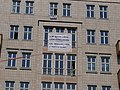 Counter-protest banner at the Karl-Marx-Allee during Mietenwahnsinn demonstration 06-04-2019 01.jpg