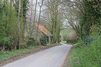 Newton and Haceby - Leaving Haceby by the lane to the north