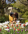 Couple kissing in an Australian garden-15Aug2010.jpg