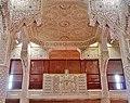 Courcouronnes Grand Mosquée Innen Gebetsraum Frauenempore.jpg