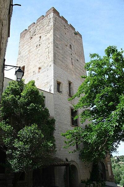 Cournonterral (Hérault) - Tour Sarrazine.