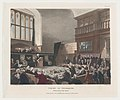 Court of Exchequer, Westminster Hall (Microcosm of London, plate 25) MET DP873998.jpg
