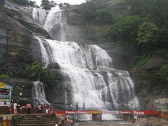 Courtallam - Main waterfalls