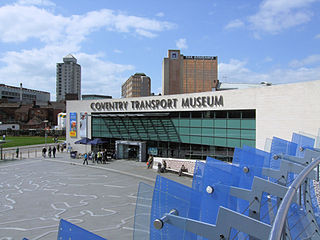 Coventry Transport Museum Transport museum in Coventry, England