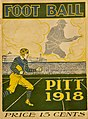 Cover photo of 1918 University of Pittsburgh Football Year Book game day program.jpg