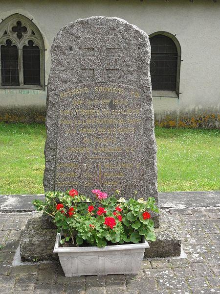 Crantenoy (M-et-M) mémorial de la résistance