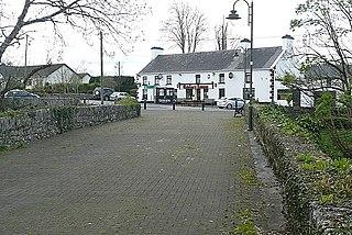 Craughwell Town in Connacht, Ireland