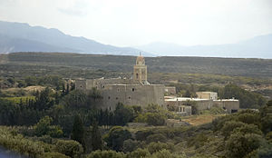 Toplou Monastery - General view of Toplou monastery.