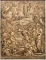 Crispijn van den broeck, il soldati cristiani che combattono il male, 1550-80 ca.jpg