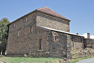 Crookwell, New South Wales - Image: Crookwell Bluestone