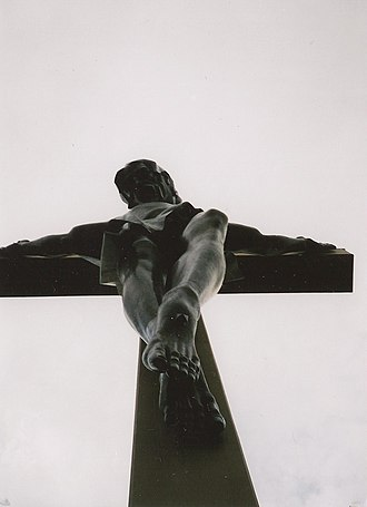Marshall Fredericks - Christ on the Cross, completed in 1959