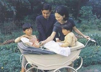 Empress Michiko - Michiko and her family in 1969