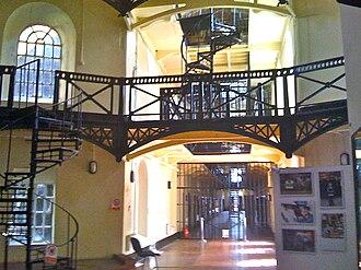 HM Prison Crumlin Road - Crumlin Road Gaol interior view