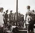 Cserkészek a Kelenföldi pályaudvaron, 1939. Fortepan 92370.jpg