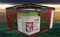 Escritorio Ubuntu Cubo de Eduardo Llaguno