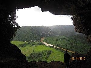 Cueva Ventana - Cueva Ventana overlooking the Río Grande de Arecibo valley