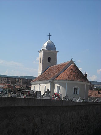 Cugir - Image: Cugir orthodox church