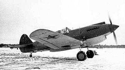 Curtiss P-40 Warhawk USSR