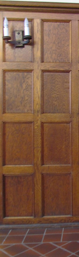 Cushing House - Image: Cushing House wood paneling